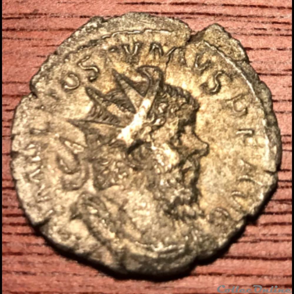 monnaie antique jc ap romaine 3eme emission 2eme phase 263 265 providentia avg