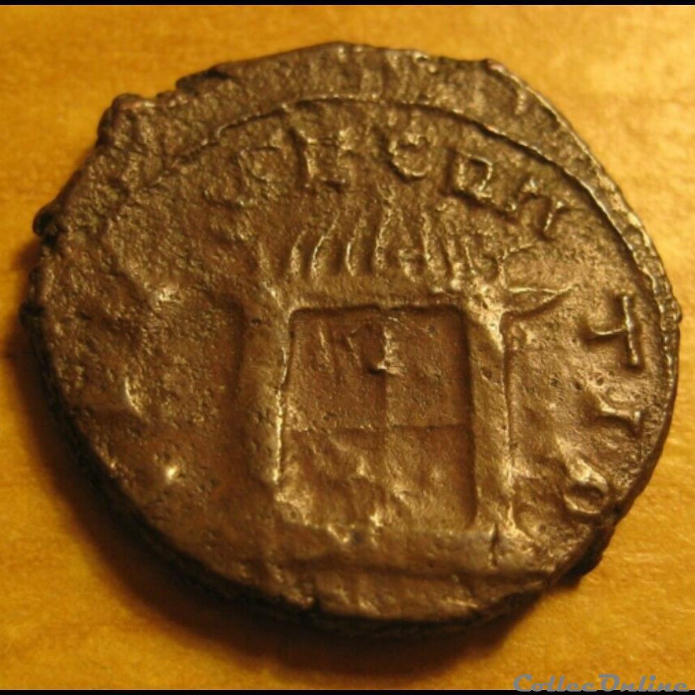 monnaie antique av jc ap romaine tetricus ii claude ii le gothique