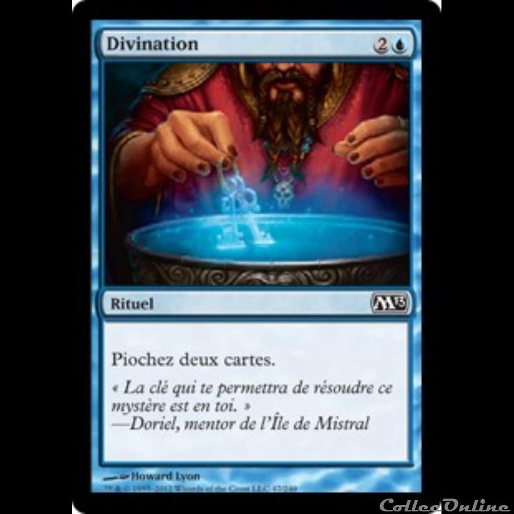 jeux jouet jeu de carte collectionner 047 divination