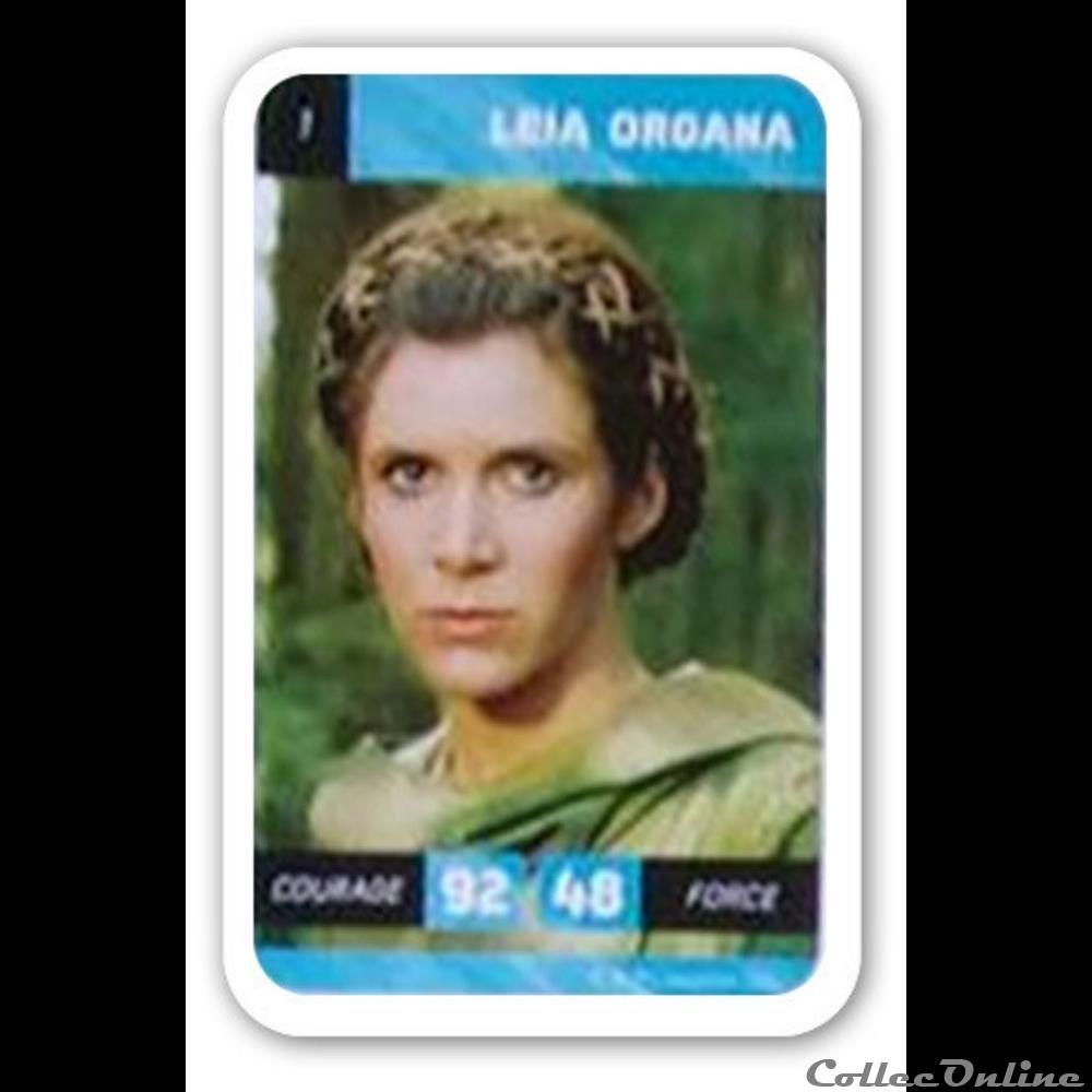 jeux jouet jeu de carte collectionner 01 leia organa
