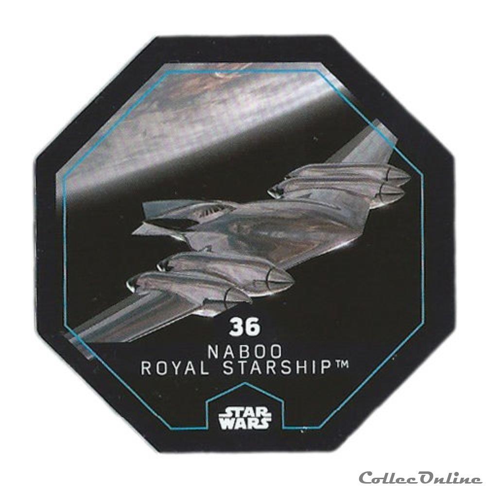 jeux jouet jeu de carte collectionner 36 naboo royal starship