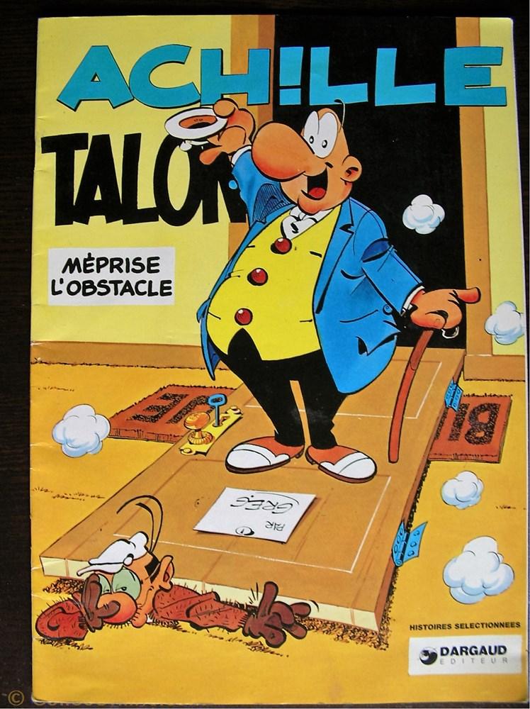 livre bd revue bande dessinee 08 pub 1994 achille talon meprise obstacle