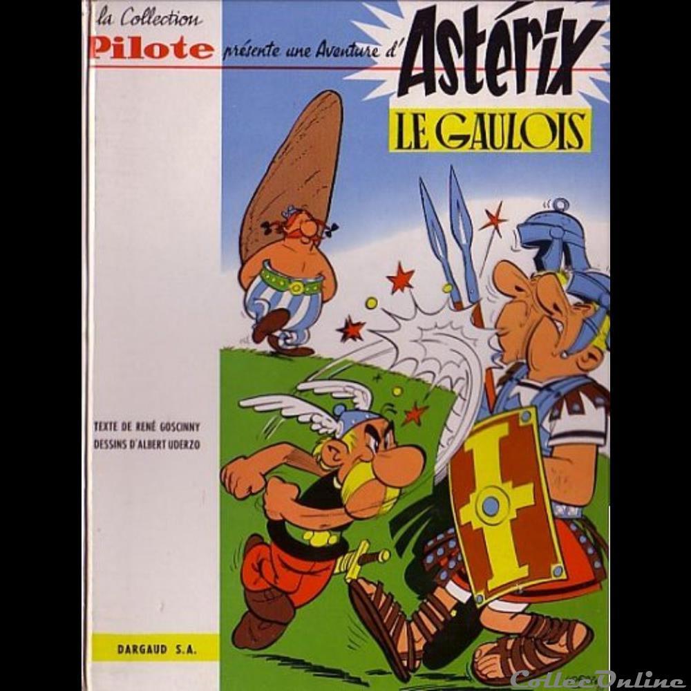 livre bd revue bande dessinee album 01 asterix le gaulois