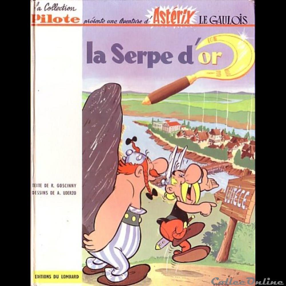 livre bd revue bande dessinee album 02 la serpe or
