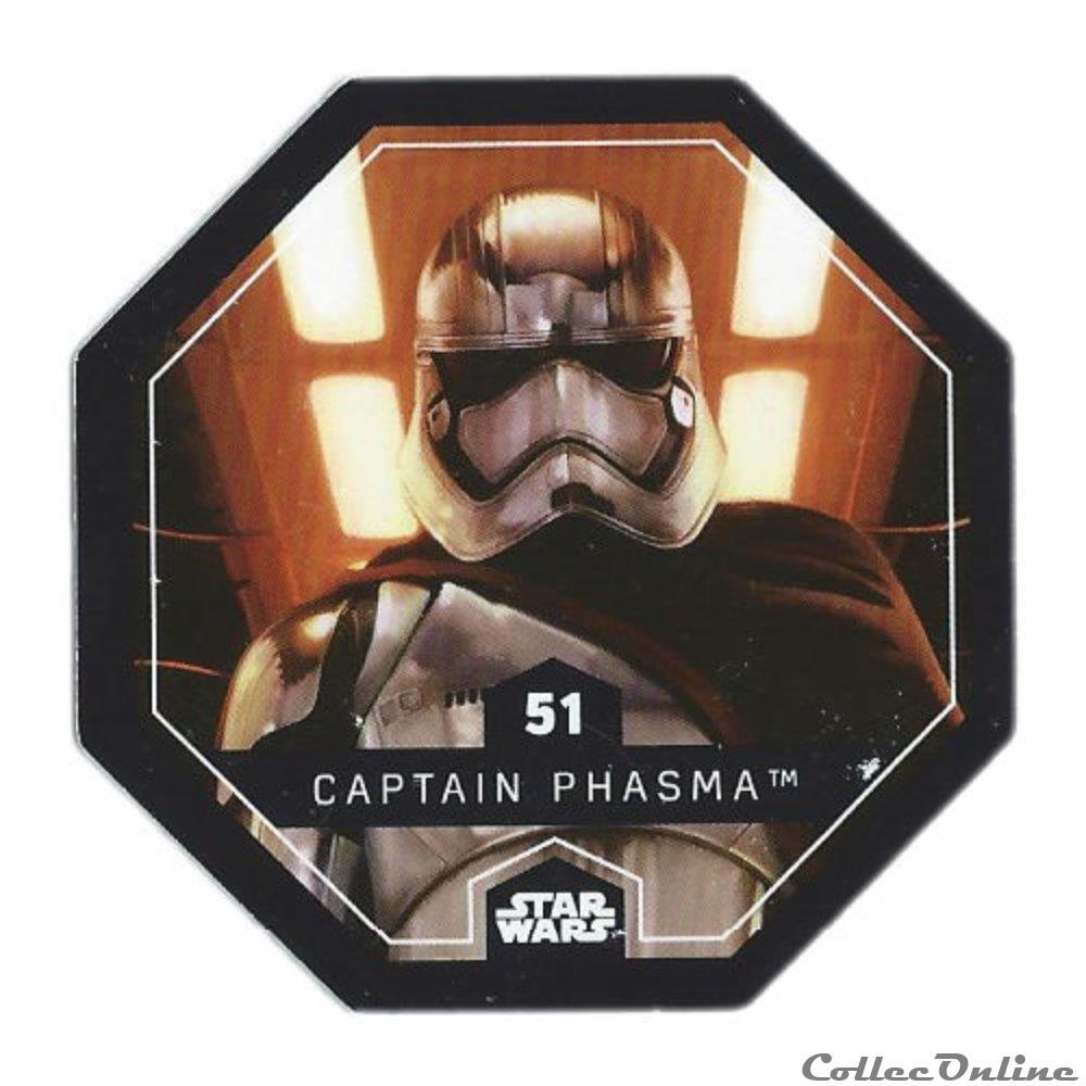 jeux jouet jeu de carte collectionner 51 captain phasma
