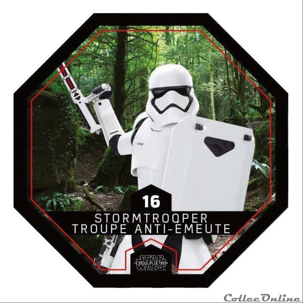 jeux jouet jeu de carte collectionner 16 stormtrooper troupe anti emeute