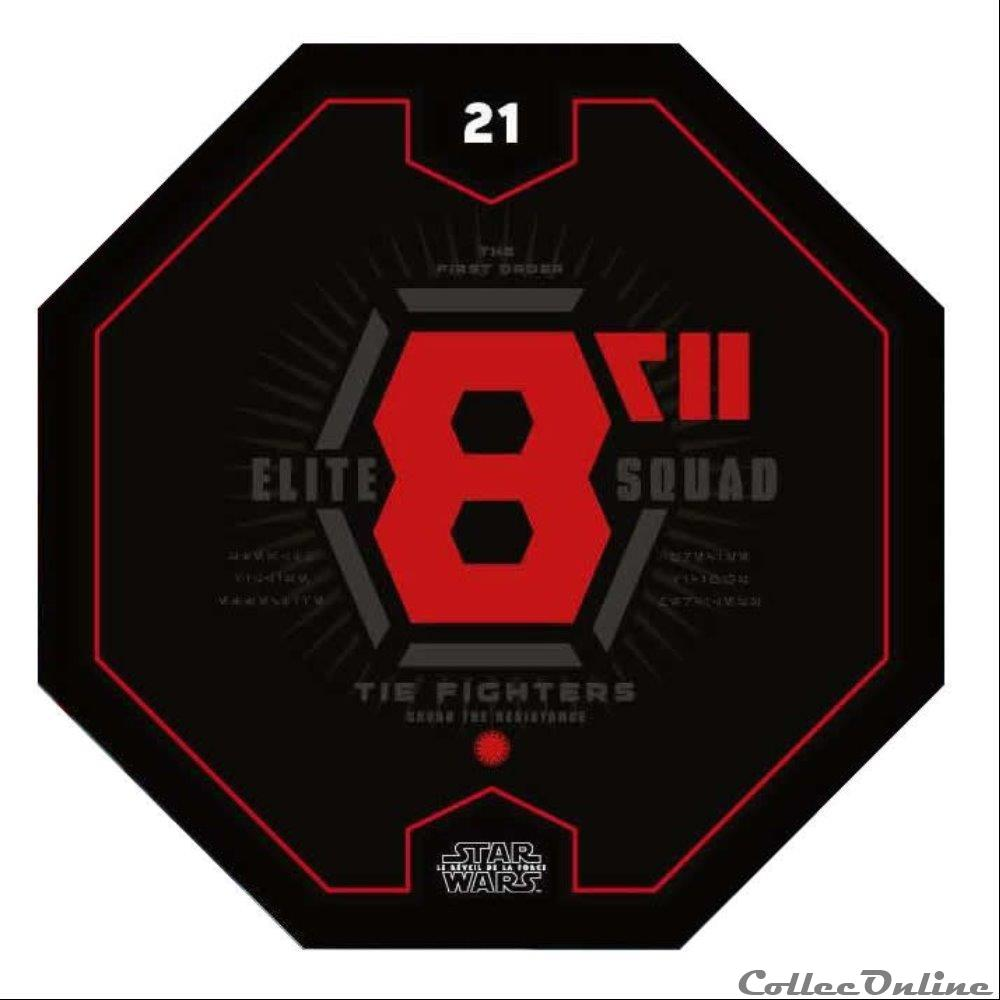 jeux jouet jeu de carte collectionner 21 elite 8 squad tie fighters