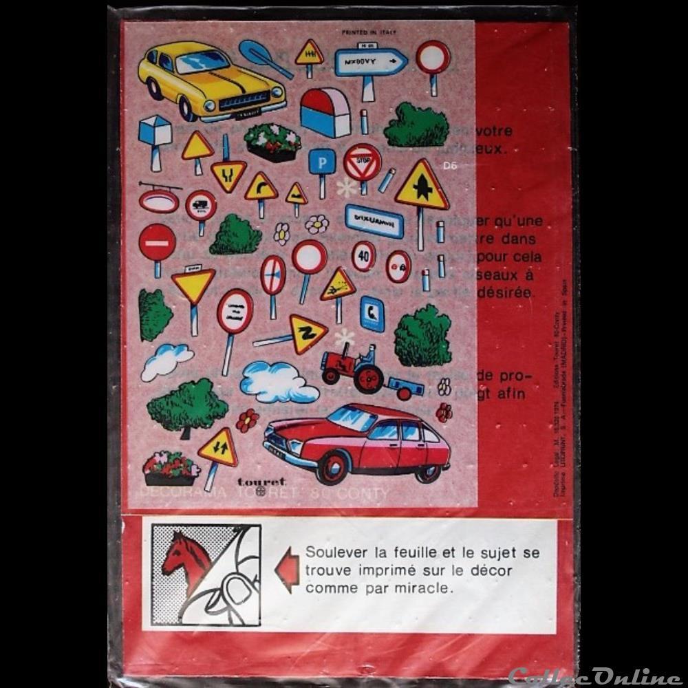 decoration magnet autocollant code de la route le