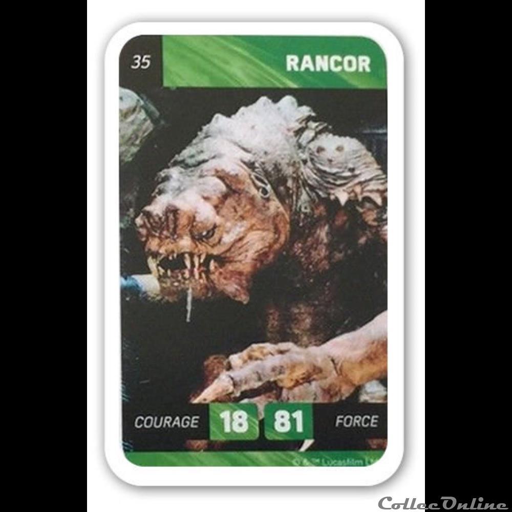 jeux jouet jeu de carte collectionner 35 rancor