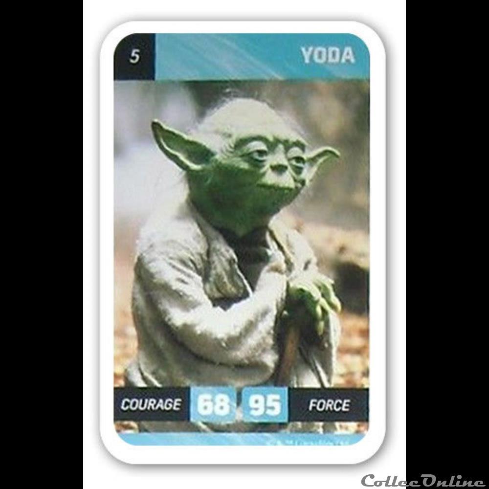 jeux jouet jeu de carte collectionner 05 yoda