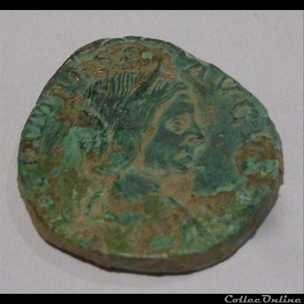 monnaie antique romaine julia maesa sesterce