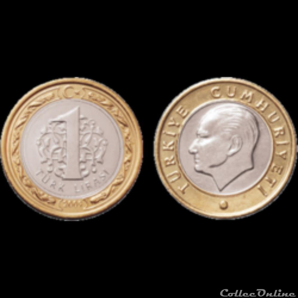 1 Livre Turque 2009 Coins World Coins 1790