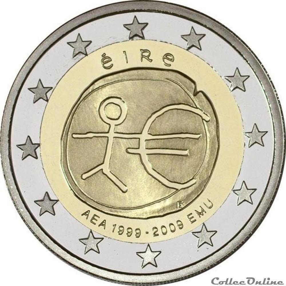 monnaie euro irlande aea 1999 2009