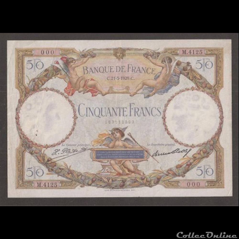 billet france diver 50 f merson