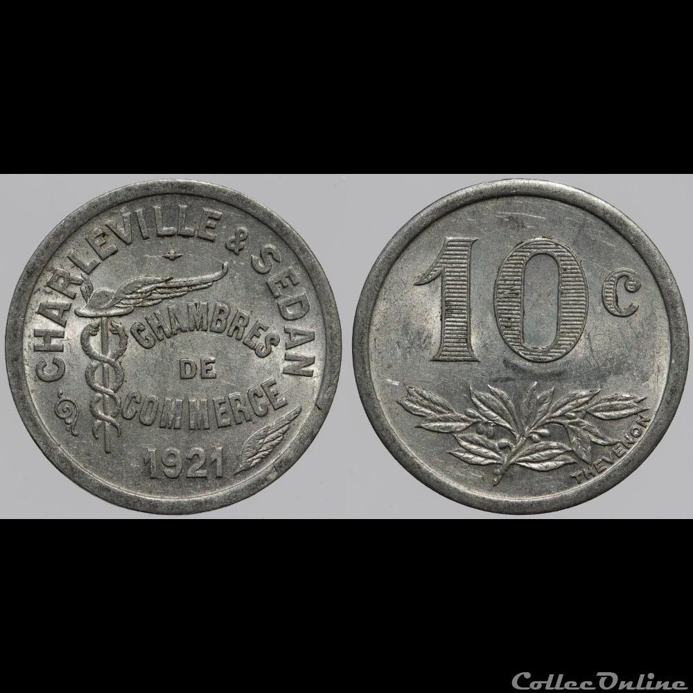 08 charleville sedan 10 centimes monnaies france - Chambre de commerce charleville ...