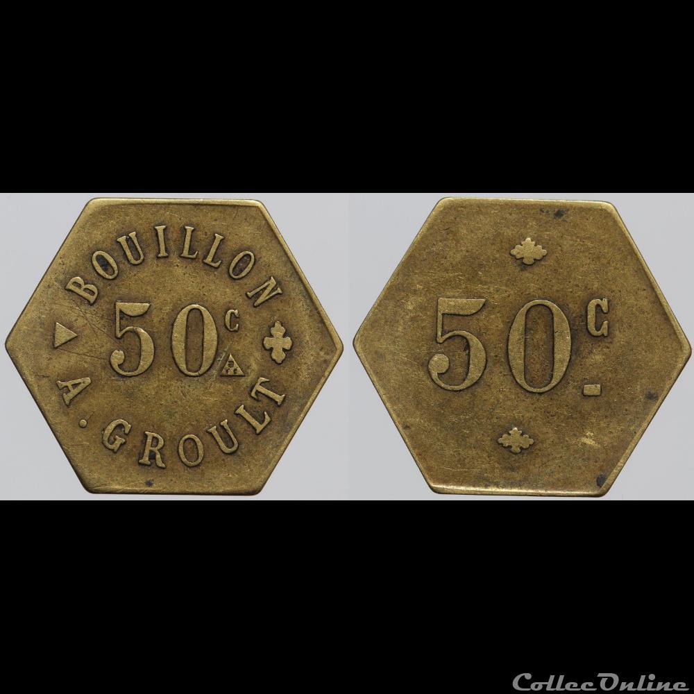 monnaie france necessite ni bouillon a groult 50 centimes