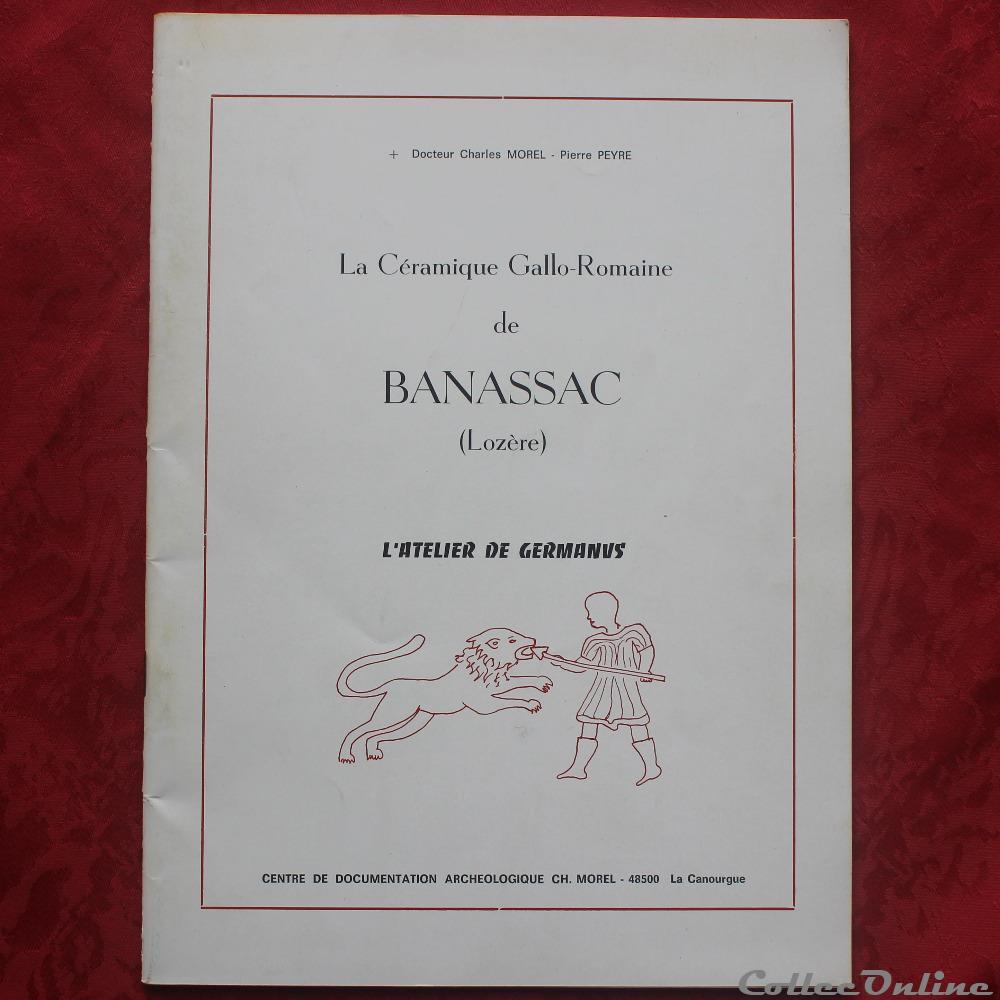 bd revue livre la ceramique gallo romaine de banassac