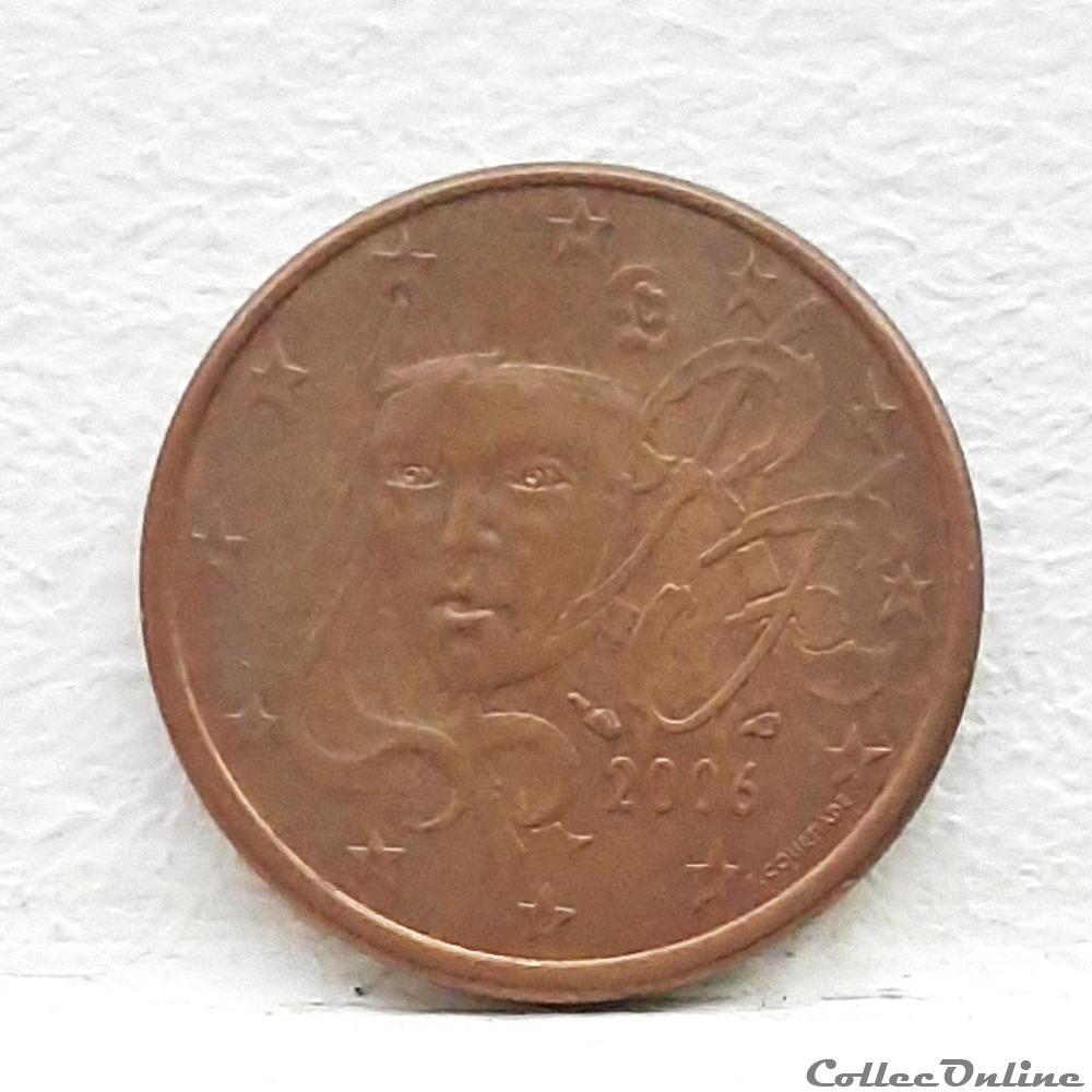 monnaie euro france 2006 5 cents