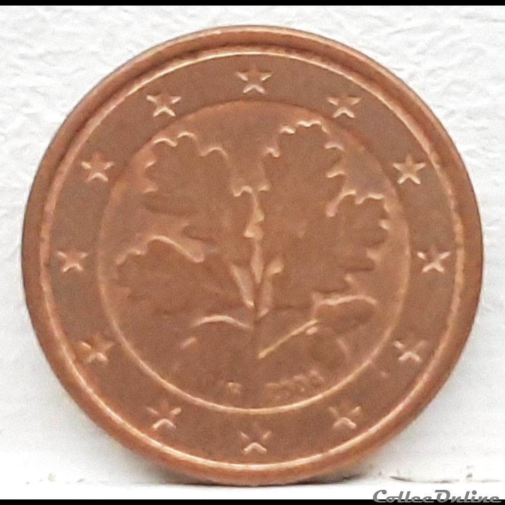 monnaie euro allemagne 2004 f 1 cent