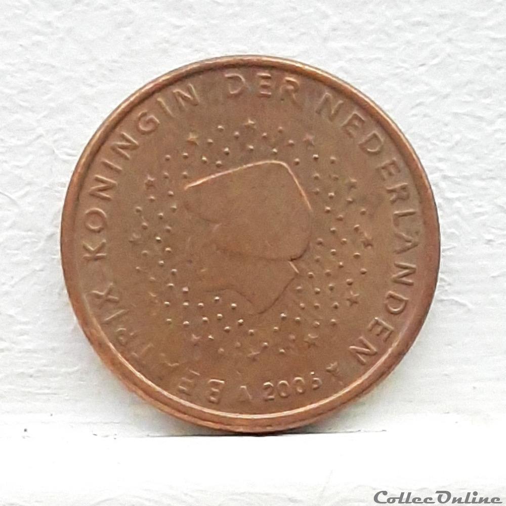 monnaie euro pays bas 2006 5 cents