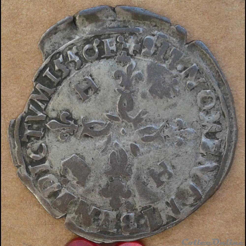 monnaie france royale 1550 d douzain aux croissants