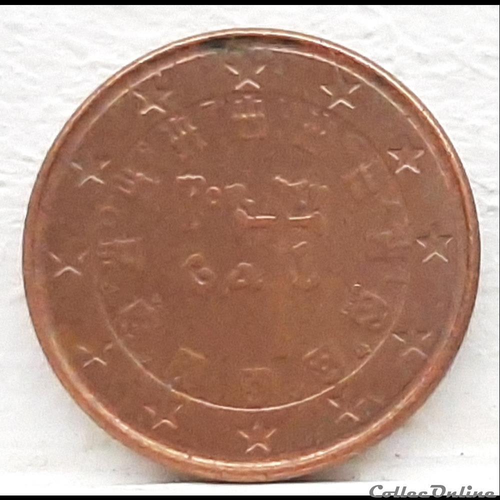 monnaie euro portugal 2004 1 cent