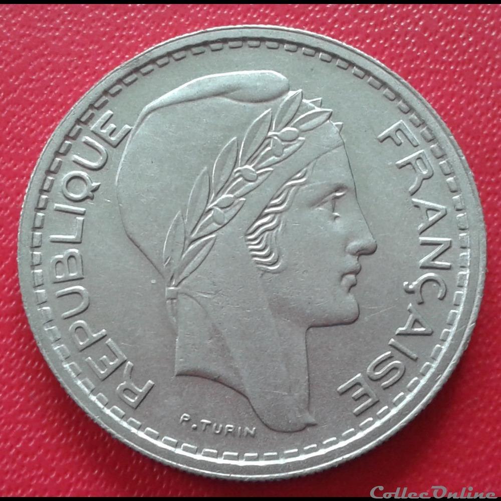 monnaie france moderne 10 francs 1949 b petite tete