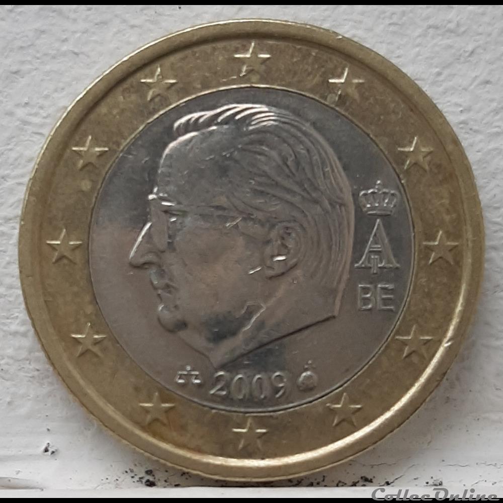 monnaie a belgique 2009 1 euro