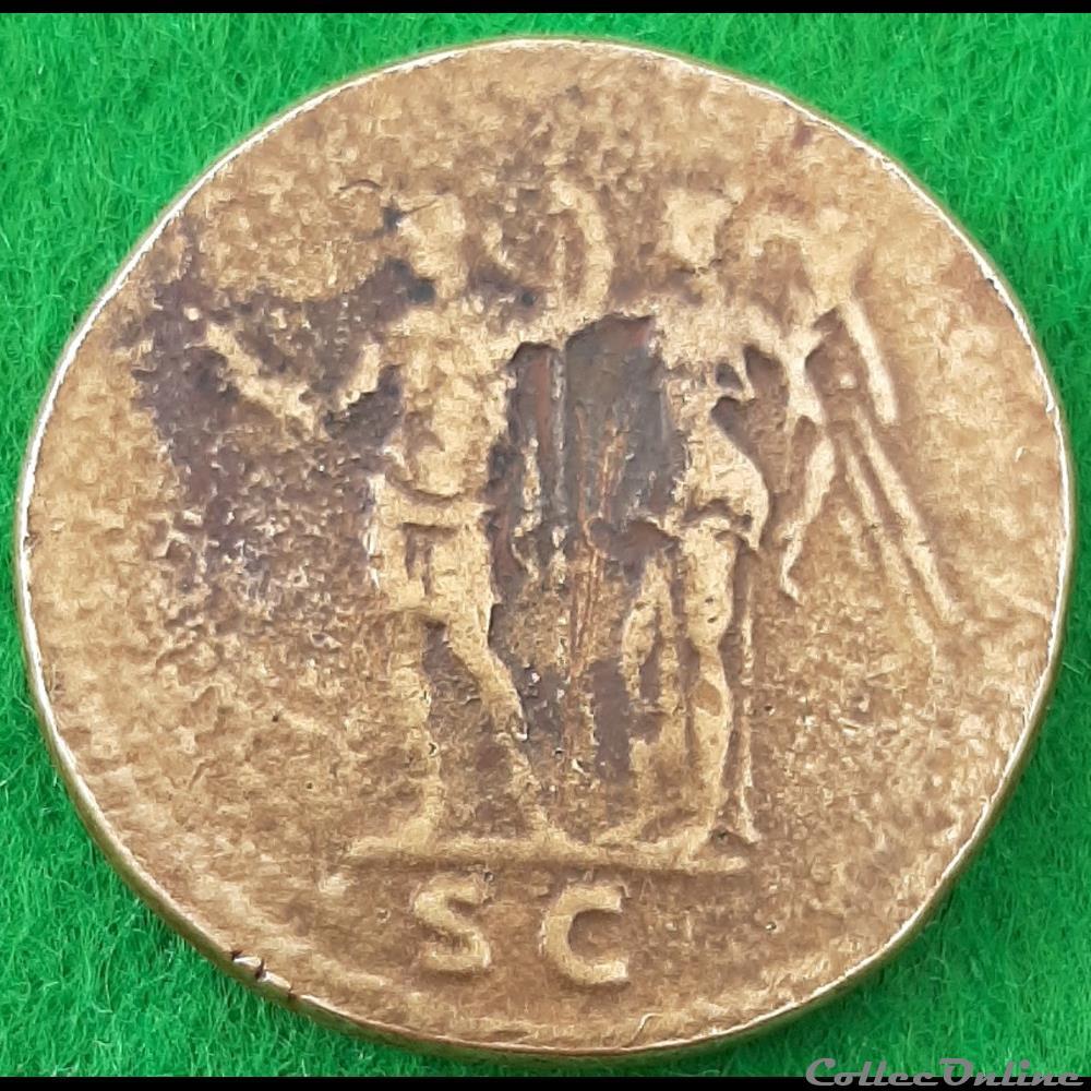 monnaie antique av jc a ap romaine domitien sesterce