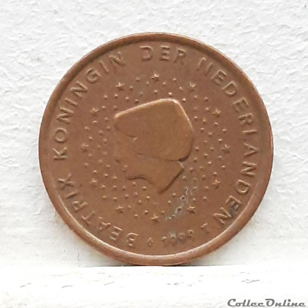 monnaie euro pays bas 1999 5 cents