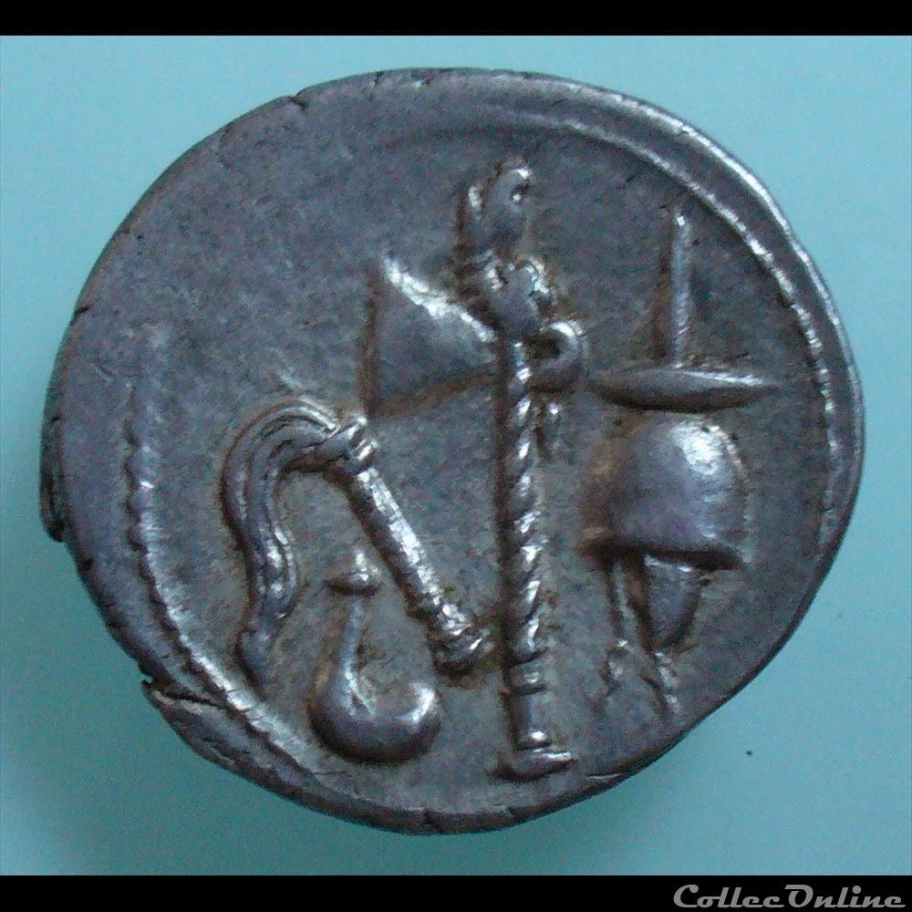 monnaie antique romaine jules cesar denier