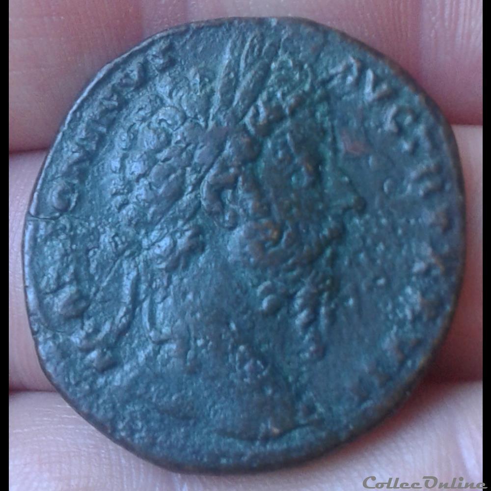 monnaie antique romaine marc aurele sesterce