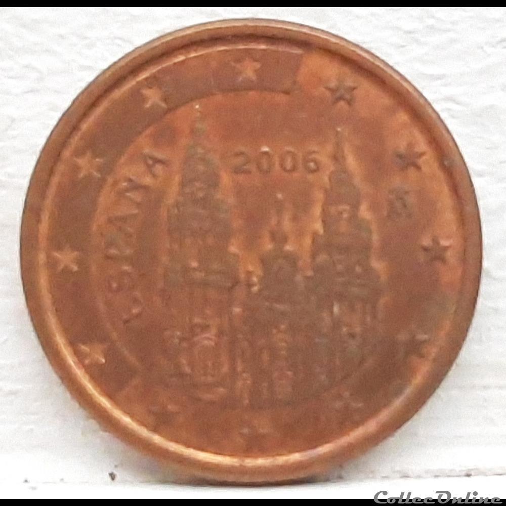 monnaie euro espagne 2006 1 cent