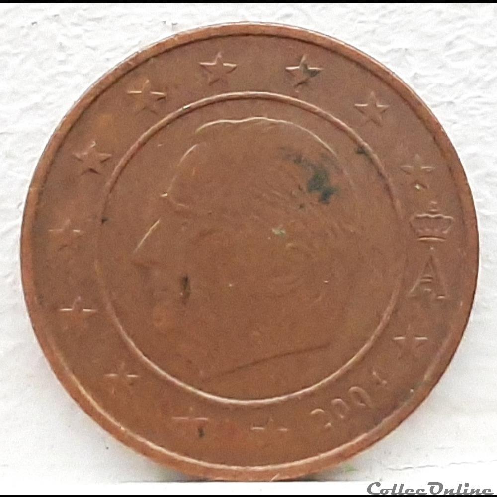 monnaie euro a belgique 2004 2 cents