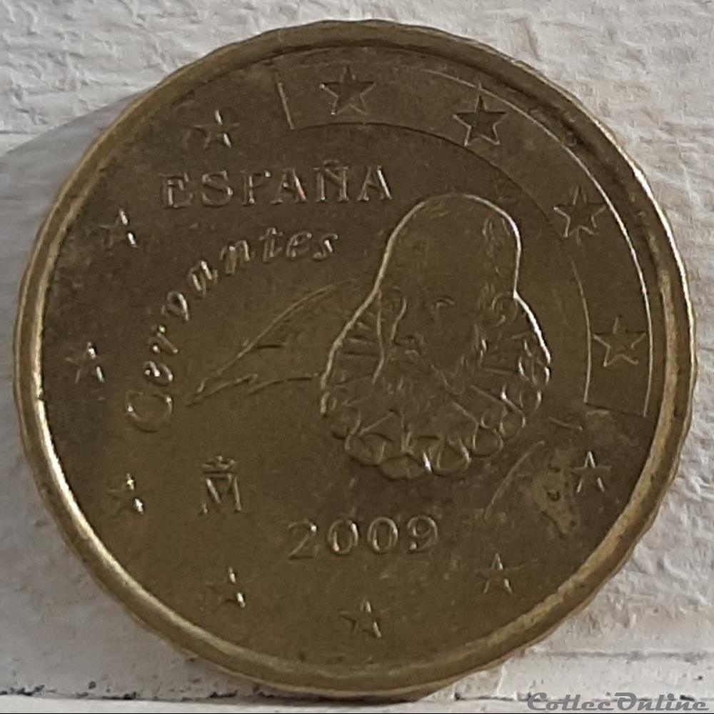 monnaie euro espagne 2009 10 cents