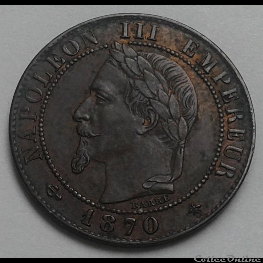 monnaie france moderne 1870 a