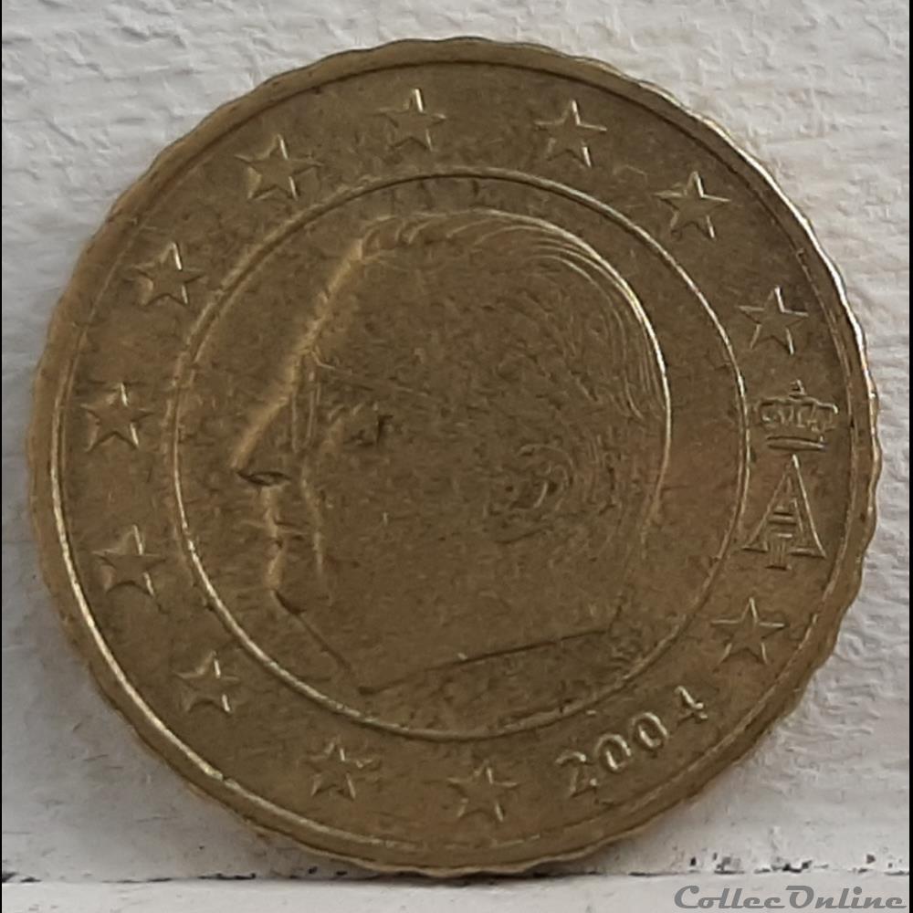 monnaie euro a belgique 2004 10 cents