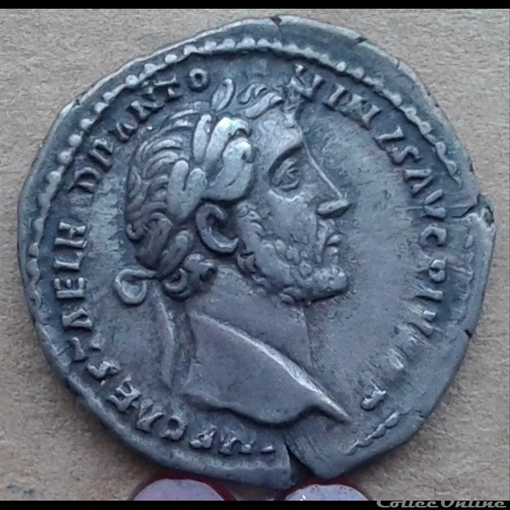 monnaie antique romaine antonin le pieux denier tr pot xv cos iiii