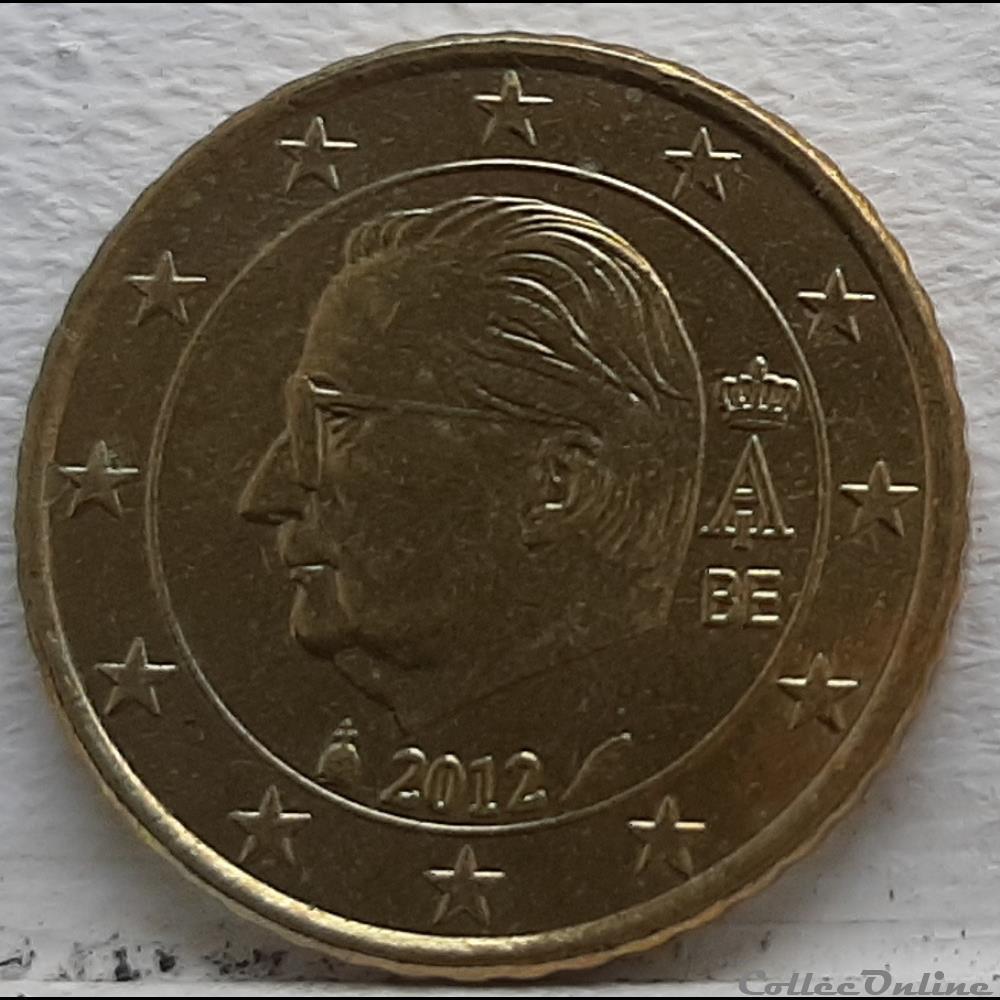 monnaie euro a belgique 2012 50 cents