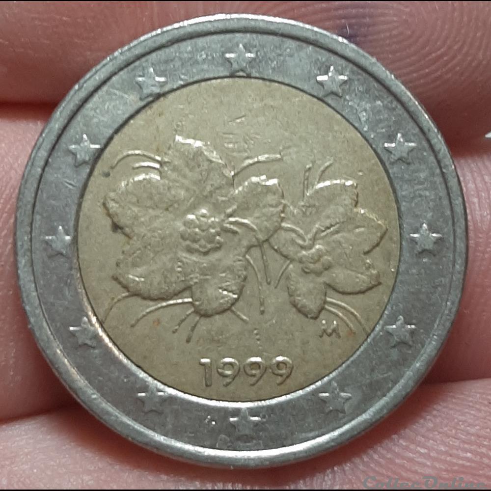 monnaie finlande 1999 2 euros
