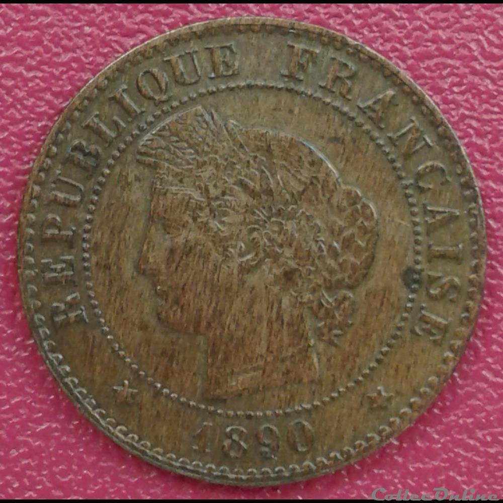 monnaie france moderne 1890 a
