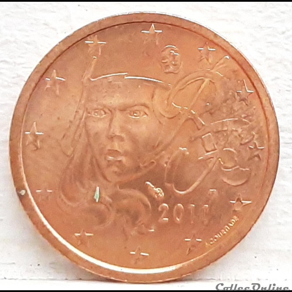 monnaie euro france 2011 2 cents