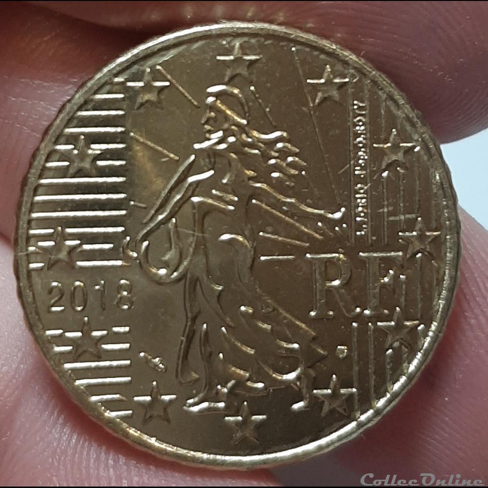 monnaie euro france 2018 50 cents