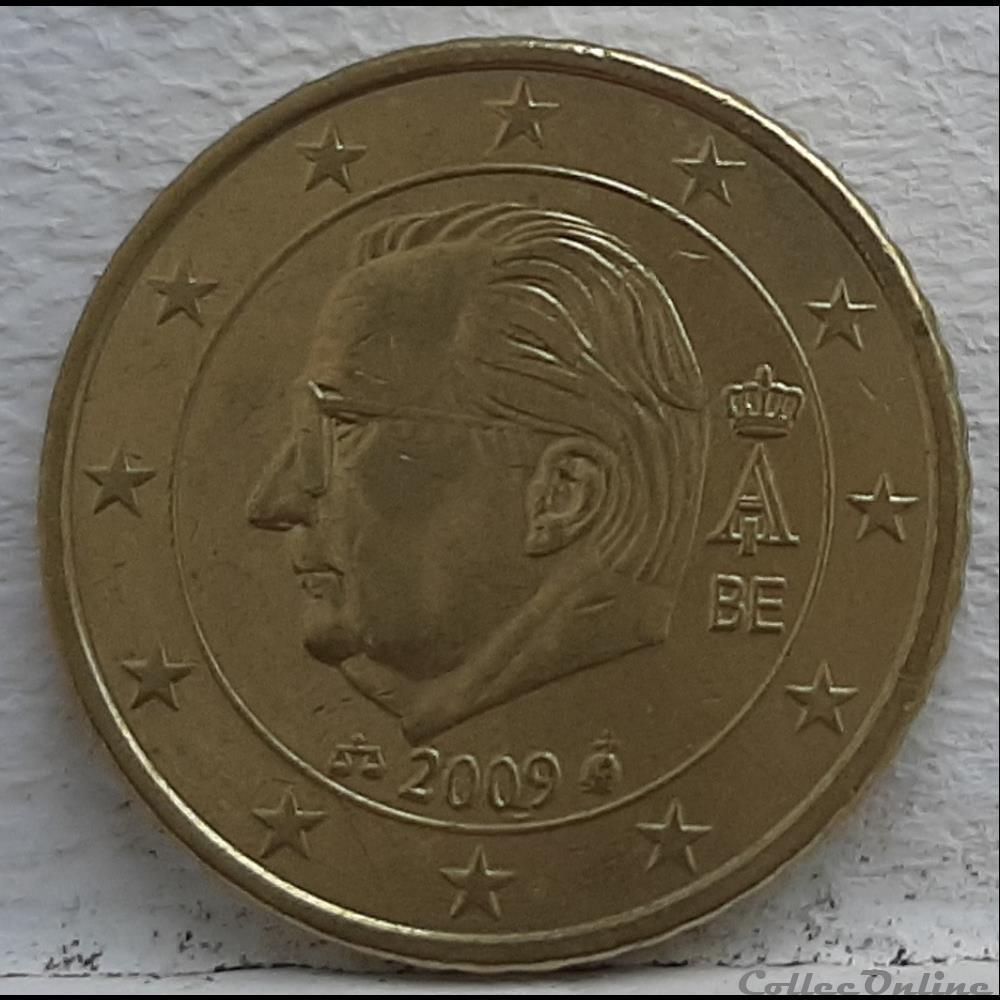 monnaie euro a belgique 2009 50 cents
