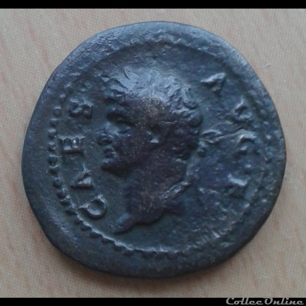monnaie antique romaine domitien quadrans