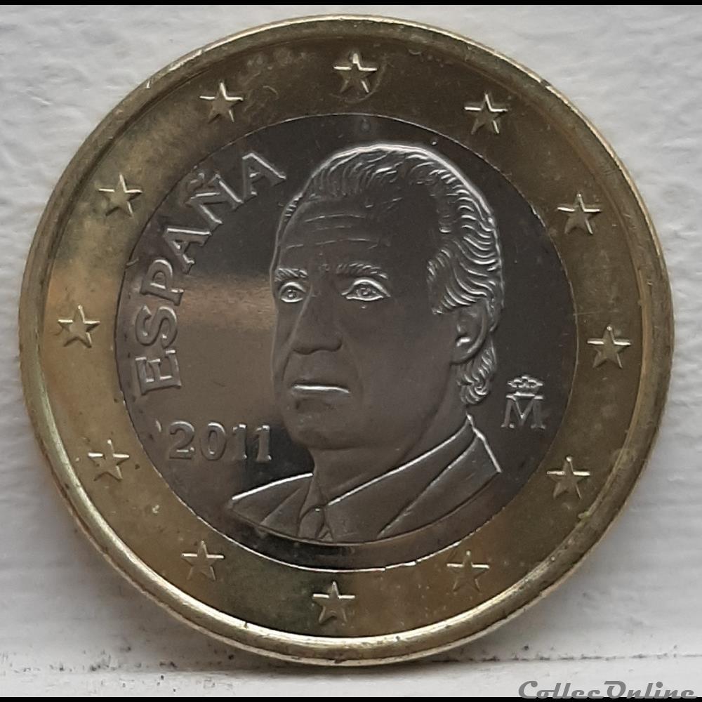 monnaie espagne 2011 1 euro