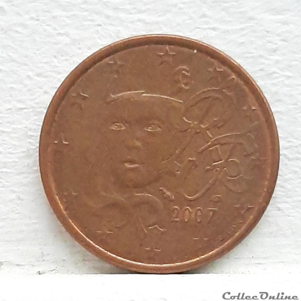 monnaie euro france 2007 5 cents