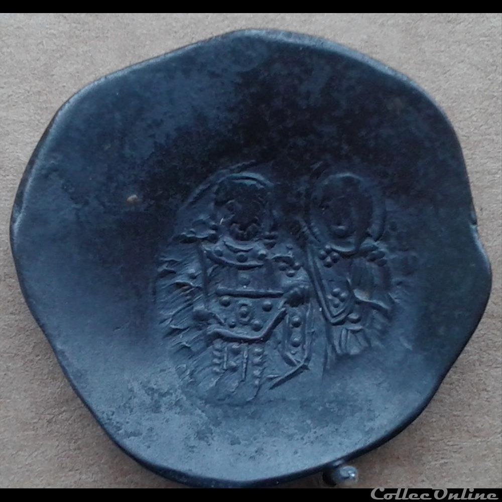 monnaie france royale byzantine aspon trachy