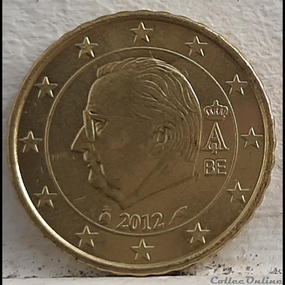 monnaie euro a belgique 2012 10 cents
