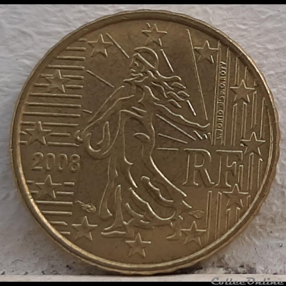 monnaie euro france 2008 10 cents
